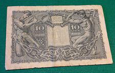 banconota 10 lire GIOVE