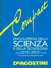 COMPACT ENCICLOPEDIA DELLA SCIENZA E DELLA TECNOLOGIA  AA.VV. DE AGOSTINI 1994