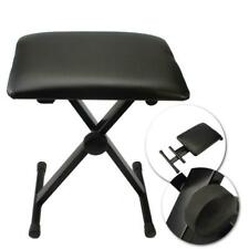 Portable Piano Keyboard Music Folding Adjustable Padded Stool Chair Seat Bench