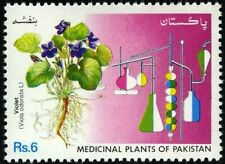 Pakistan Stamp 1992 Medicinal Plants Of Pakistan Banafsha Violet