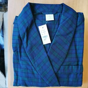Brooks Brothers Men's Small All Cotton Traditional Fit Bath Robe