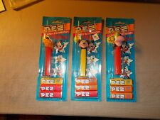 LOT OF 3 DISNEY PEZ MICKEY MOUSE , PLUTO AND GOOFEY IN PACKAGE