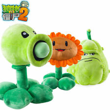 30cm Plants vs Zombies II Plush Doll PVZ Pea Machine Shooter Sunflower Toys Gift