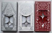 8 x Christmas Scented Fragrance Tea Light Candles fragrances Cinnamon Hollyberry