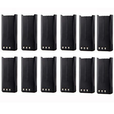 12x 2000mAh Li-ion Knb-45 Battery for Kenwood Tk-3200 Tk-2302Vk Tk-3302Uk