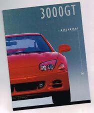 1995 Mitsubishi 3000gt FOLLETO con tabla de colores: vr-4,SL,3000 GT,VR4,Turbo