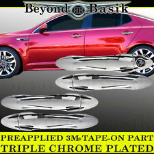 Fits 2011-2016 Kia Optima K5 Chrome Door Handle Covers Overlays Trims