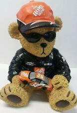 Tony Stewart #20 Home Depot Polyresin Collectible Bear