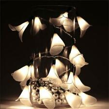"""72"""" Led White Calla Lily Fairy Lights Wedding Centerpieces Party Decorations"""