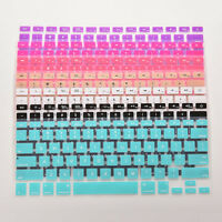 """Silicone Soft Keyboard Cover Specialized for laptop Macbook air 13"""" 15"""" 17"""""""