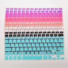 Funda de silicona para teclado con cubierta de piel para Macbook Air *ws