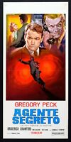 L106 Film Gregory Peck Agente Segreto Crawford People Notte