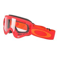 Maschera da Motocross Quad Enduro Oakley O Frame MX Red Yellow