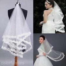 1.4*1.35M Leaf Ivory Wedding Bridal Elbow Satin Ribbon Lace Edge Net Yarn Veil
