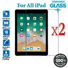 """2 Tempered Glass Screen Protector for iPad 8th 7th Gen 10.2"""" 6th Gen 9.7 nonoem"""