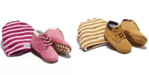 Free Shipping! Timberland Infant/Toddler Crib Bootie and Hat Gift Set