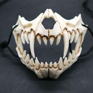 Halloween Mask Cosplay Resin Mask Eco-friendly Animal Theme Party Skull Masks