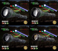 Opticfire® XC 3 LED Deluxe high power hunting torch lamping lamp gun light kit