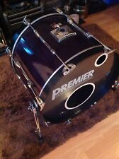 "Vintage Premier XPK 22"" Bass Drum Black Shadow"