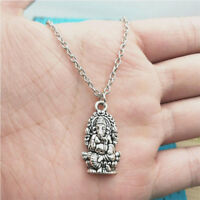 Ganesha Shiva Necklace,Silver handmade necklace,Fashion charm jewelry pendants