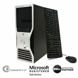 Dell Precision 490 Computer PC /  2x Intel Xeon 5150 2.66GHz / No HDD / 8GB RAM