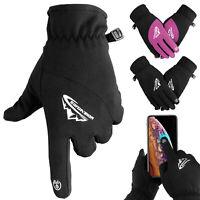 Men Women Winter Gloves Thermal Warm Windproof Waterproof Touch Screen Mittens
