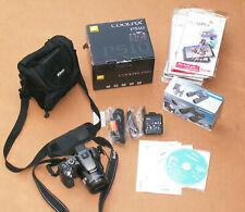 Nikon COOLPIX P510 16.1MP mit GPS Digitalkamera in Grau & Bresser Fernglas