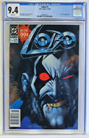 NEWSSTAND VARIANT Lobo #1 CGC 9.4, NM, white pages, Bisley, UNPRESSED