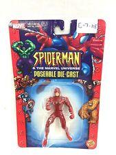 ToyBiz SpiderMan & The Marvel Universe Poseable Diecast Dare Devil New