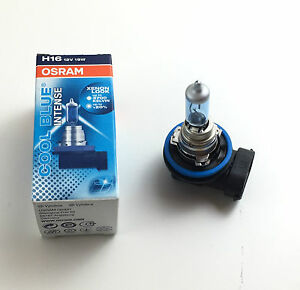 Osram H16 Cool Blue Intense 64219CBI 12V 19W Xenon Look Made IN Germnay