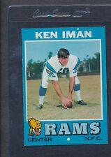 1971 Topps #068 Ken Iman Rams EX/MT *1057