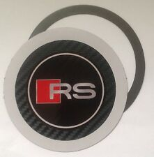 Magnetic Tax disc holder fits any audi rs rs4 rs6 rs8