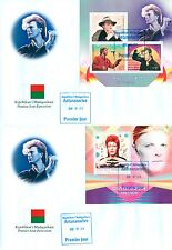 David Bowie In Memoriam Music Madagascar first day covers FDC set