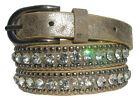 femmes Fashion ceinture, rivets ceinture Sélection strass bling bling
