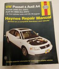 Haynes Repair Manual - 96023 VW Passat (1998-2001) Audi A4 (1996-2001)