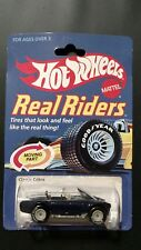 1997 Hot Wheels Classic Shelby Cobra  Real Riders FREE Protector Super Rare