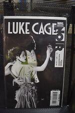 Luke Cage Noir #3 Dennis Calero B&W Variant Marvel Comics 2009 Benson Glass