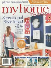 My Home My Style magazine Project ideas Easy makeovers Decor tips Wall art