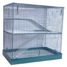Pennine Tripple Rat / Chinchilla / Degu / Ferret Cage Home Flat Pack 2097
