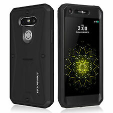 Water Resist Shockproof Rugged Armor Hybrid Hard Case Stand Cover For LG G5 AU