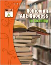 Achieving TABE Success In Reading, Level A Workbook (Achieving TABE Success fo..