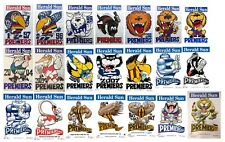 1997-2017 WEG Mark Knight Premiership Poster Collection Original