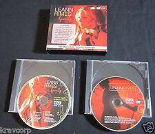 LEANN RIMES 'FAMILY' 2007 PROMO CD/DVD SET