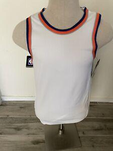 New York Men's Nike AEROSWIFT NBA home Knicks Blank Basketball Jersey Size 40