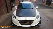 Honda CR-Z Carbon Front Bumper Splitter / Diffuser / Lip with RODS INCLUDED v6