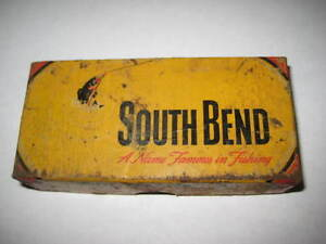 Vintage South Bend-Bass-Oreno #973 YP- WOOD Lure-(Collectors Look) Lower Price