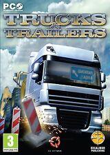 Trucks & Trailers (PC CD) PC 100% Brand New