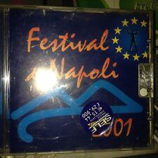 AUDIO CD FESTIVAL DI NAPOLI 2001 ottime condizioni 8021939301022