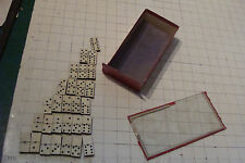 vintage French game/puzzle: DOMINOES nice, compete, early 1900's or late 1800's