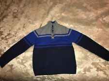 Children's Clothing - Chaps Pullover Sweater, Boys Size (XXS)4/5, Grey/Blue